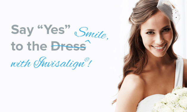 "Say ""I Do"" to the Perfect Smile with Invisalign"