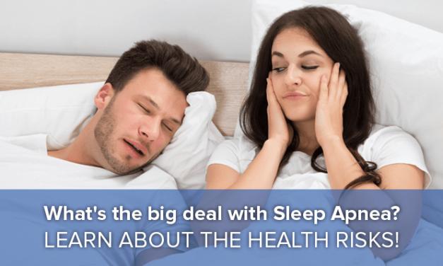 Sleep Apnea: Is It a Big Deal?